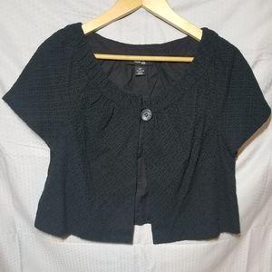 Style & co Cropped Jacket